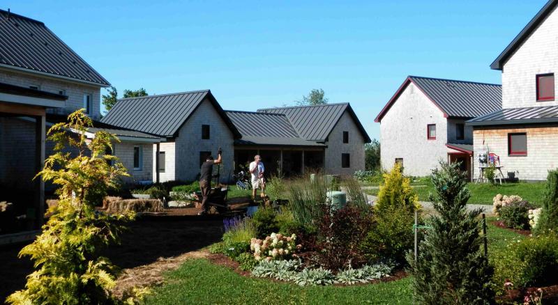 Eco-village, Belfast, Maine